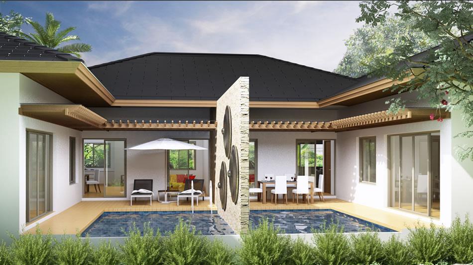 khao lak tropical villas